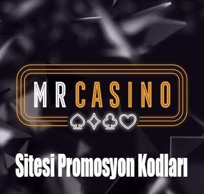 Mrcasino Sitesi Promosyon Kodları